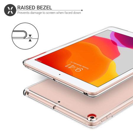 "Olixar iPad 10.2"" 2020 8th Gen. Flexishield Case - 100% Clear"