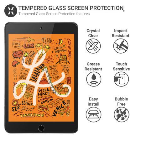 Olixar iPad Mini 5 2019 5th Gen. Tempered Glass Screen Protector
