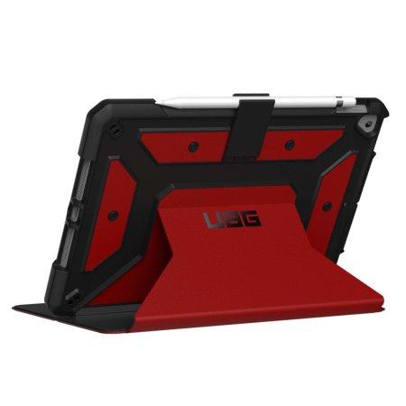 "UAG iPad 10.2"" 2020 8th Gen. Metropolis Protective Case - Magma"