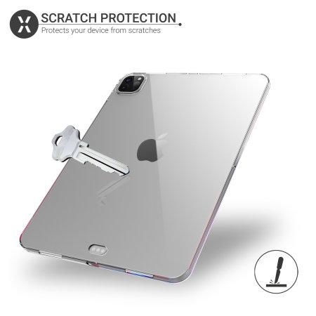 """Olixar Flexishield iPad Pro 12.9"""" 2021 5th Gen. Ultra-Thin ..."""