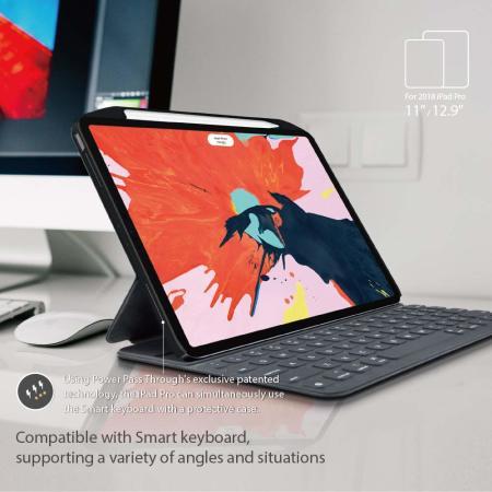 "SwitchEasy Coverbuddy iPad Pro 11"" 2020 2nd Gen. Case - Black"