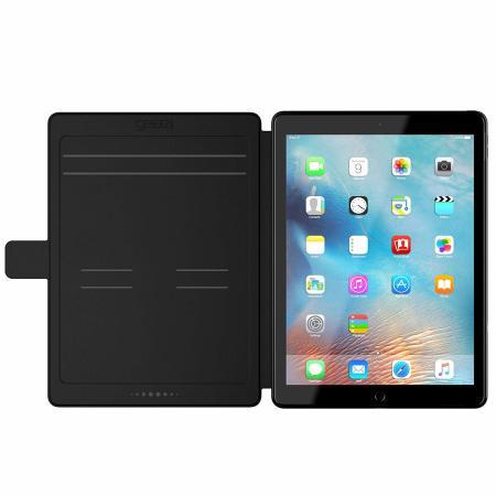 "Gear4 D3O Buckingham iPad Pro 12.9"" 2020 4th Gen. Tough Case - Black"