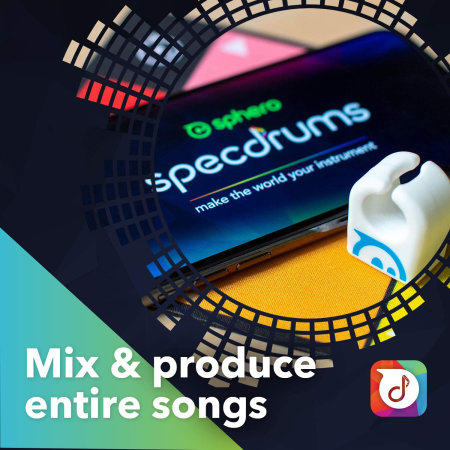 Sphero Specdrums App Enabled Musical Composition Rings - 1 Ring