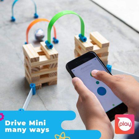 Sphero App-Controlled Robotic Ball & 55 Piece STEM learning Kit