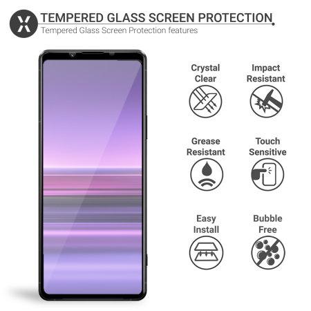 Olixar Sony Xperia 1 III Tempered Glass Screen Protector