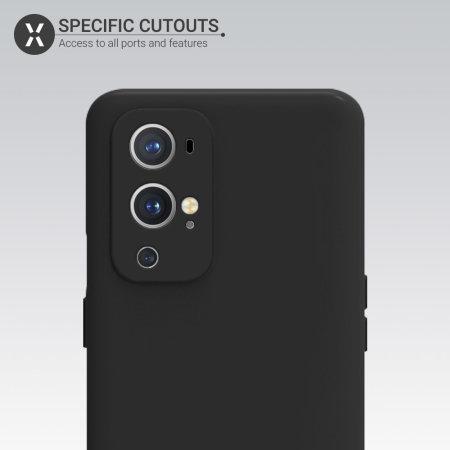 Olixar Oneplus 9 Pro Soft Silicone Case - Black