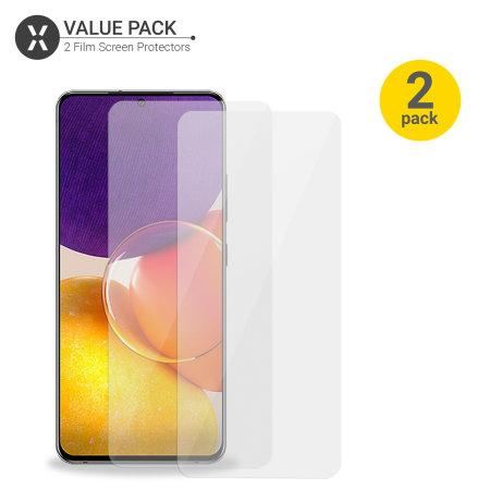 Olixar Samsung Galaxy A82 5G Film Screen Protectors - Two Pack