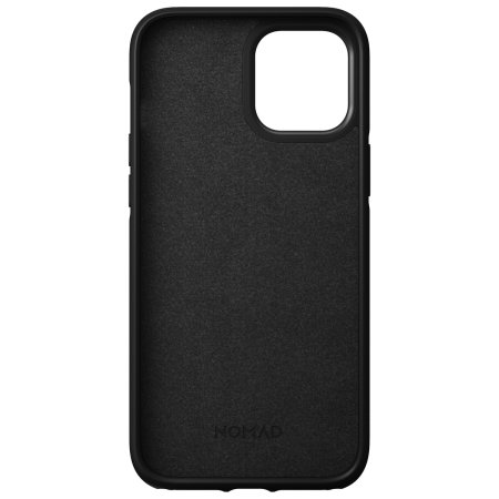 Nomad iPhone 12 Pro Max MagSafe Compatible Leather Case - Black