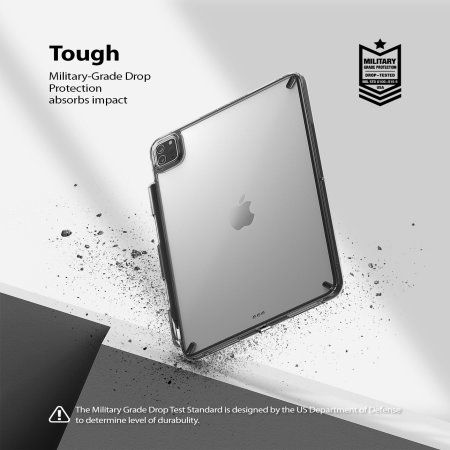 "Ringke Fusion X iPad Pro 11"" 2020 2nd Gen. Protective Case - Black"