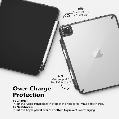 "Ringke Fusion X iPad Pro 11"" 2021 3rd Gen. Protective Case - Black"