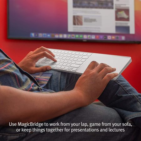 Twelve South MagicBridge Connector For Magic Trackpad 2 to Keyboard