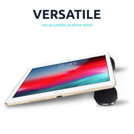 Olixar Adjustable Non-Slip Mushroom Laptop Stand - Black