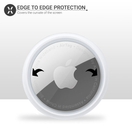 Olixar Apple AirTags Anti-Scratch Protector - Clear