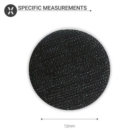 Olixar Adhesive Velcro Hook & Loop Sticky Dots 12mm Diameter - 50 Pack