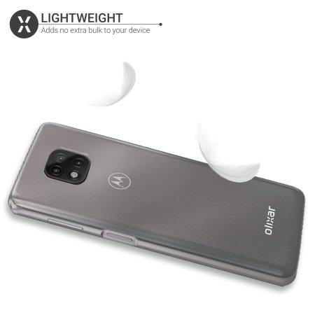 Olixar FlexiShield Moto G Power 2021 Ultra-Thin Case - 100% Clear