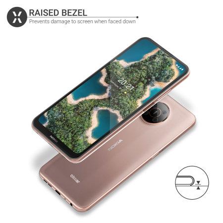 Olixar Flexishield Nokia X20 Ultra-Thin Case - 100% Clear