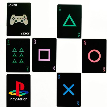 Paladone PlayStation Standard Deck Playing Cards & Console Tin