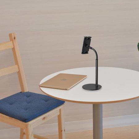 Olixar ShortArm 70cm Universal Tablet & Smartphone Clamp Holder- Black