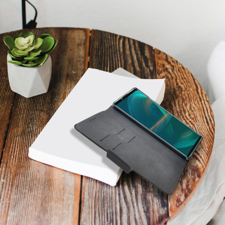 Olixar Leather-Style Sony Xperia 5 III Wallet Case - Black