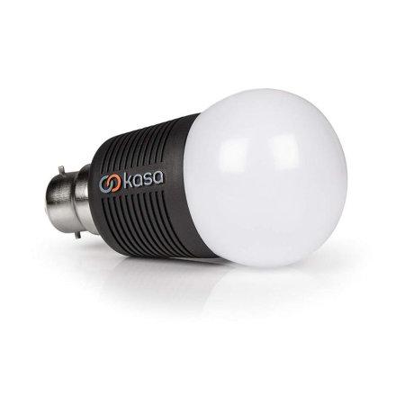 Veho Kasa App Controlled Smart LED B22 Lightbulb 7.5W - 2 Pack