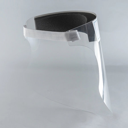 PET Anti-Fog Easy to Wear Protective Clear Face Shield Screen Visor