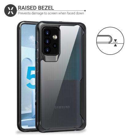 Olixar NovaShield Samsung Galaxy A52 5G Bumper Case - Black