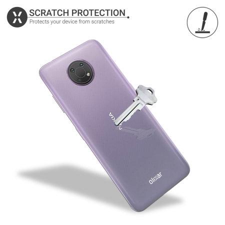 Olixar Flexishield Nokia G10 Ultra-Thin Case - 100% Clear