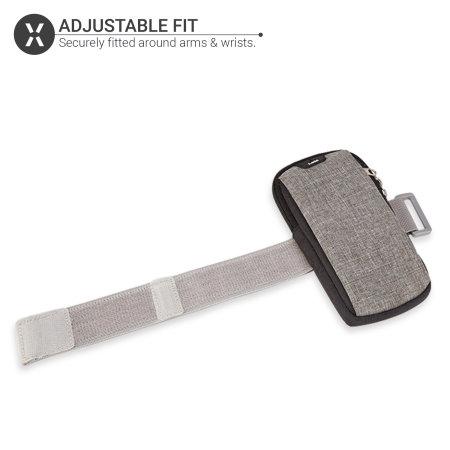 Olixar Running Armband Phone Holder Bag Pouch W/ Headphone Slot- Black