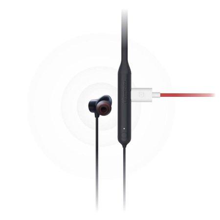 Official OnePlus Bullets Z Wireless In Ear Headphones - Black