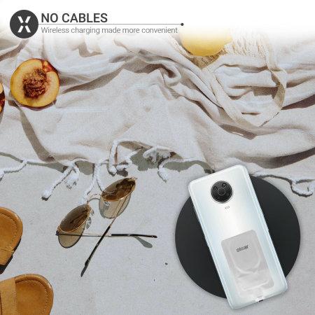 Olixar 10W Wireless Charging Pad & Lightning Wireless Charging Adapter
