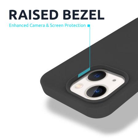 Olixar Soft Silicone iPhone 13 mini Case - Black