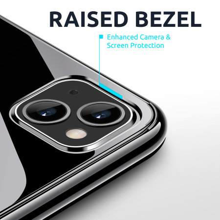 Olixar Ultra-Thin iPhone 13 mini Case - 100% Clear