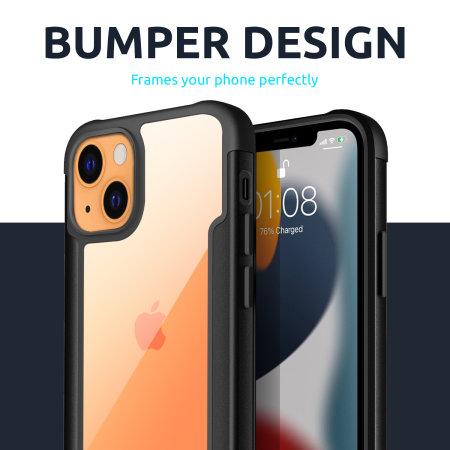 Olixar Novashield iPhone 13 mini Protective Bumper Case - Black