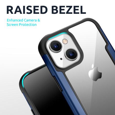 Olixar Novashield iPhone 13 Protective Bumper Case - Blue