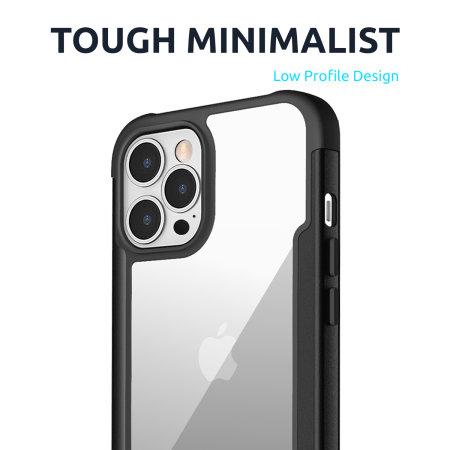 Olixar Novashield iPhone 13 Pro Tough Bumper Case - Black