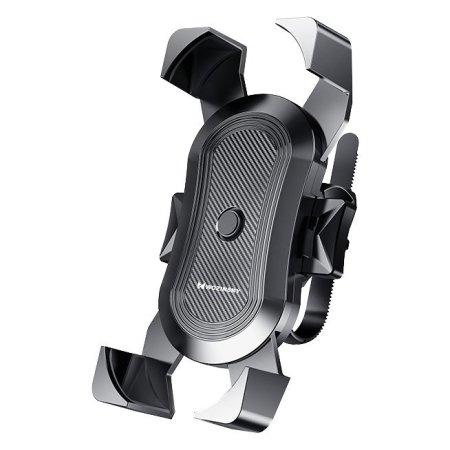 "Wozinsky Bike & Motorbike Handlebar 4.7-6.5"" Rotatable Phone Holder"