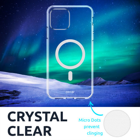 Olixar iPhone 13 mini MagSafe Compatible Case - 100% Clear