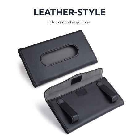 Olixar Attachable Mask Holder For Car Visor - Black