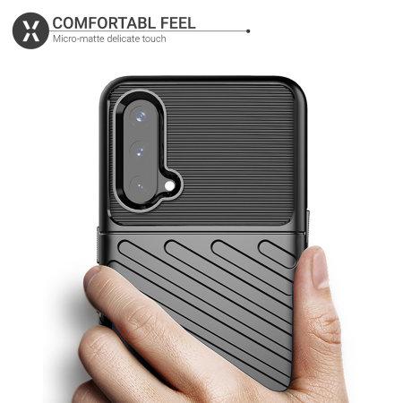Olixar OnePlus Nord CE 5G Tough Armour Case - Black