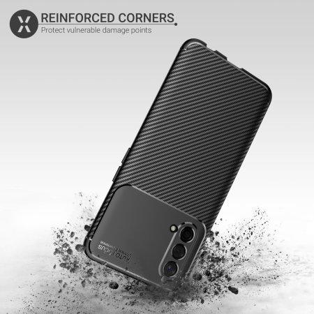 Olixar Carbon Fibre OnePlus Nord CE 5G Tough Case - Black
