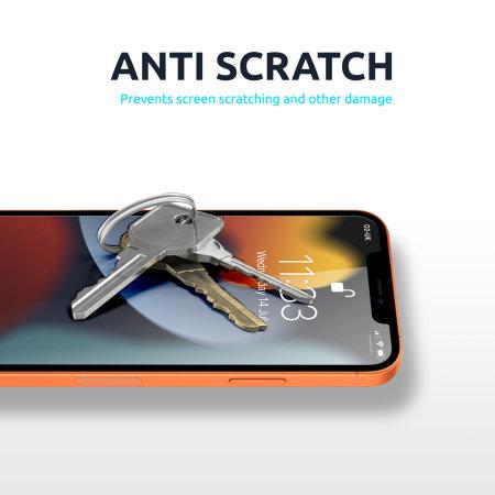 Olixar iPhone 13 Pro Max Film Screen Protectors - Twin Pack