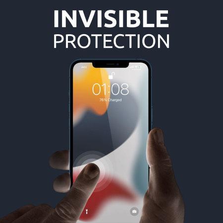 Olixar iPhone 13 Film Screen Protectors - Twin Pack