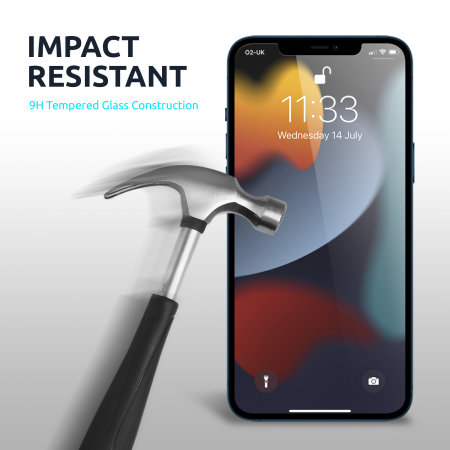 Olixar iPhone 13 Pro Tempered Glass Screen Protector