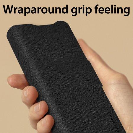 Araree Bonnet Samsung Galaxy Z Fold 3 Wallet Stand Case - Black