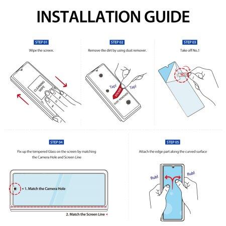 Araree Sub-Core Samsung Galaxy Z Fold 3 Front Glass Screen Protector