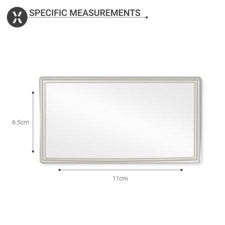 Olixar Self-Adhesive Portable Sun Car Visor Mirror - 11 x 6.5cm