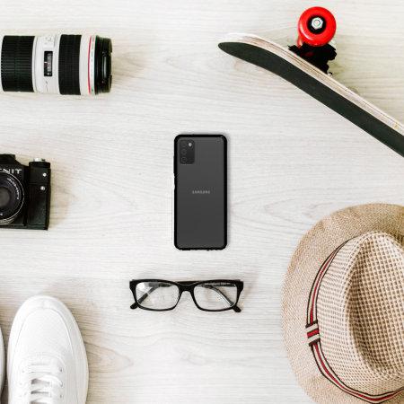 Olixar Exoshield Samsung Galaxy A03S Protective Case - Black