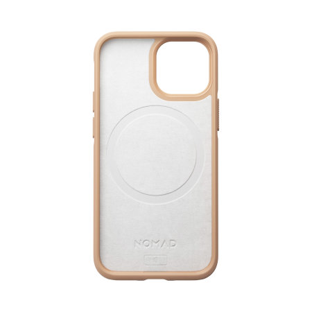 Nomad iPhone 13 mini Horween Leather Modern Case - Tan