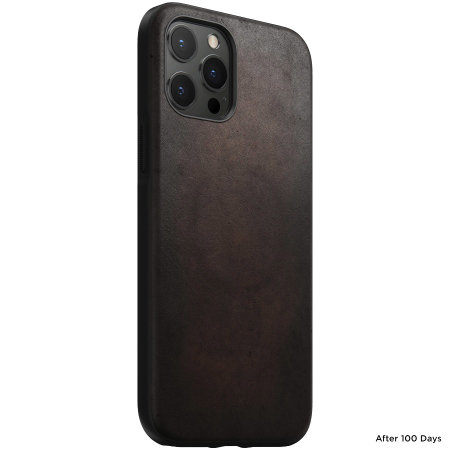 Nomad iPhone 13 Horween Leather Modern Case - Brown