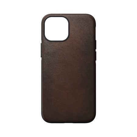 Nomad iPhone 13 mini Horween Leather Modern Case - Brown